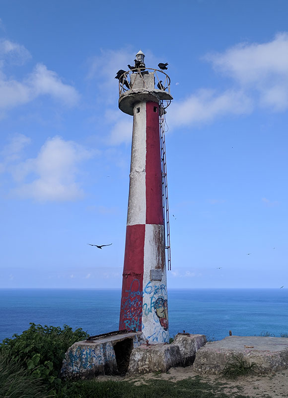 Light house in San Lorenzo